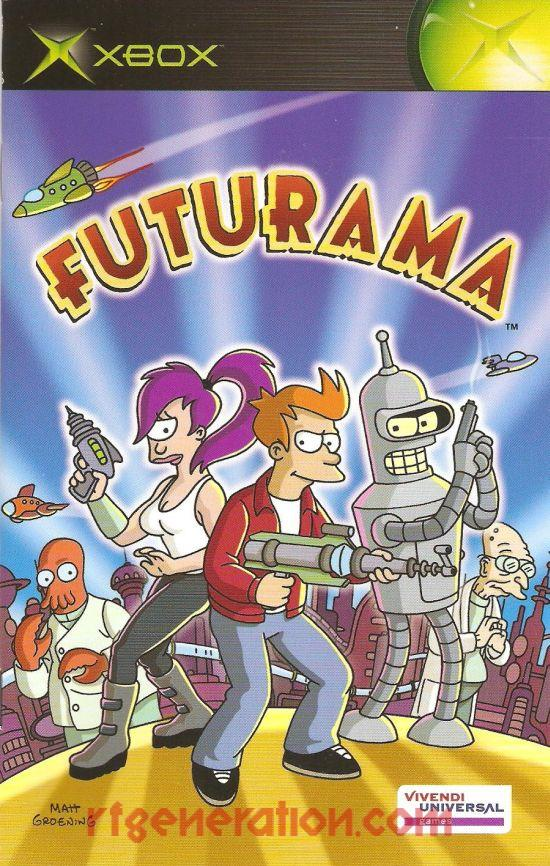 Futurama Manual Scan