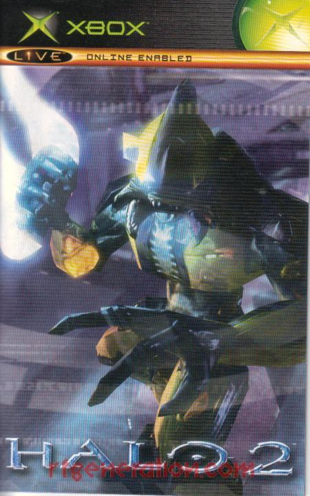 Halo 2 <sup>[Limited Collector's Edition]</sup> Manual Scan