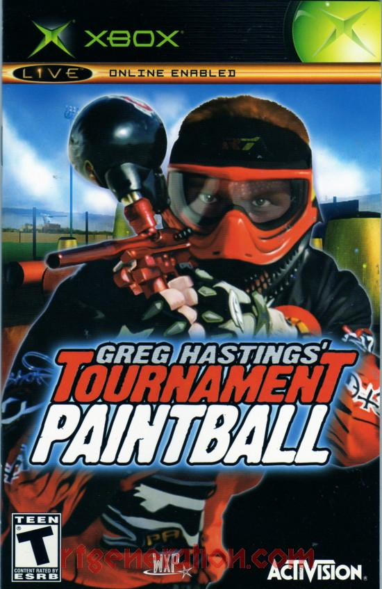 Greg Hastings' Tournament Paintball <sup>[Platinum Hits]</sup> Manual Scan