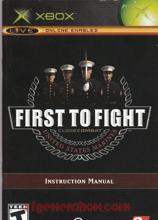 Close Combat: First to Fight Manual Scan
