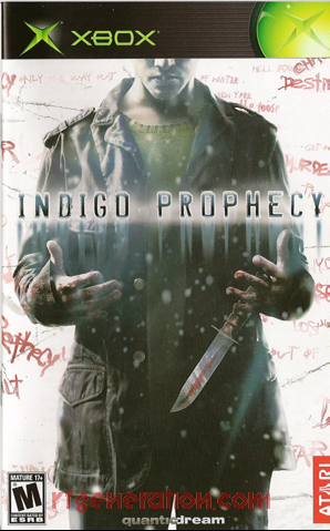 Indigo Prophecy Manual Scan