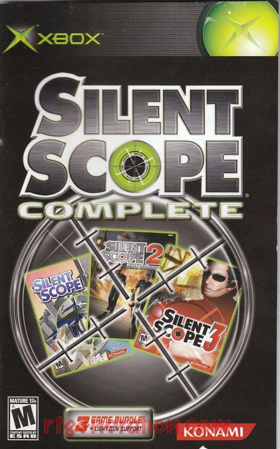 Silent Scope Complete Manual Scan