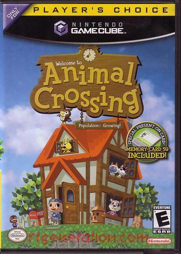 Animal Crossing <sup>[Player's Choice]</sup> Box Front