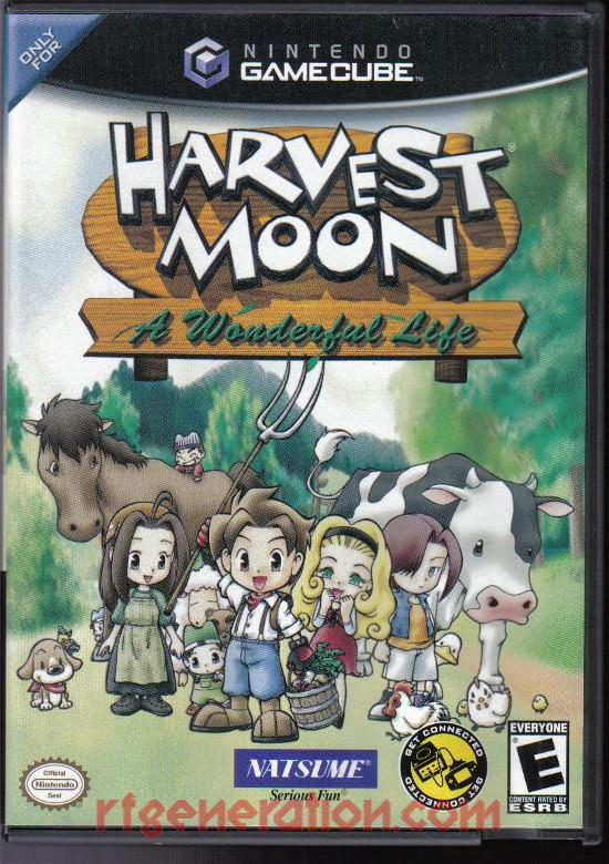 Harvest Moon: A Wonderful Life Box Front