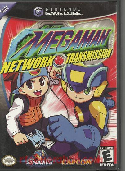 Mega Man Network Transmission Box Front