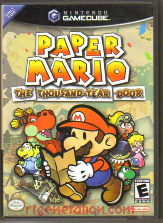 Paper Mario: The Thousand-Year Door Box Front