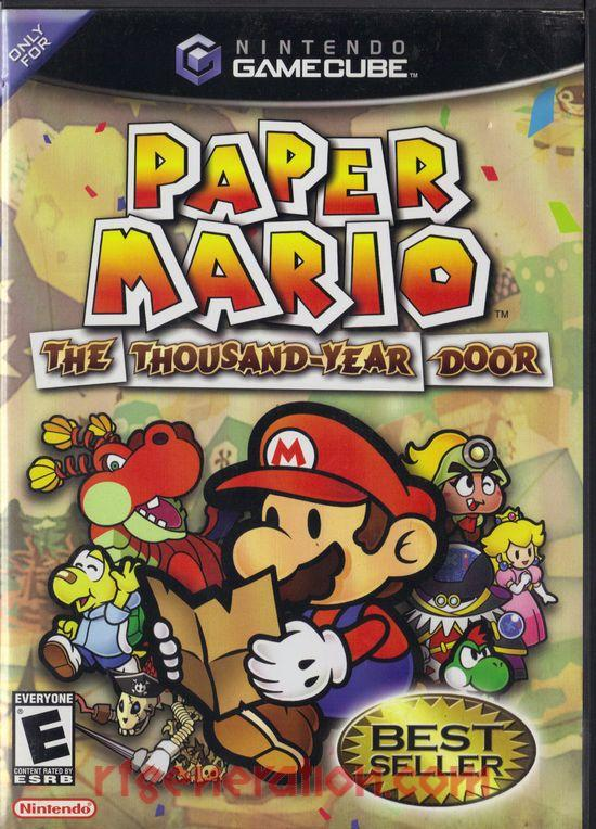 Paper Mario: The Thousand-Year Door <sup>[Best Seller]</sup> Box Front