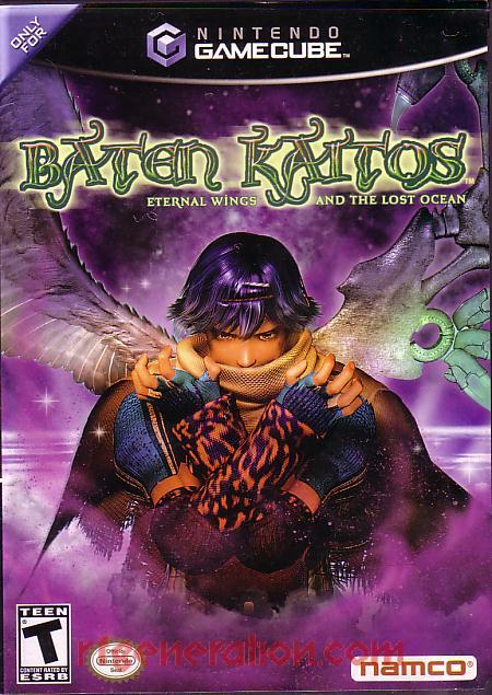 Baten Kaitos: Eternal Wings and the Lost Ocean Box Front