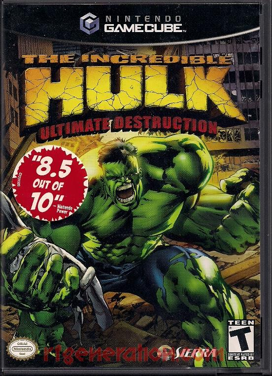 Incredible Hulk, The: Ultimate Destruction Box Front