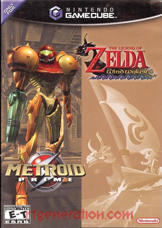 Metroid Prime / Legend of Zelda, The: The Wind Waker Box Front