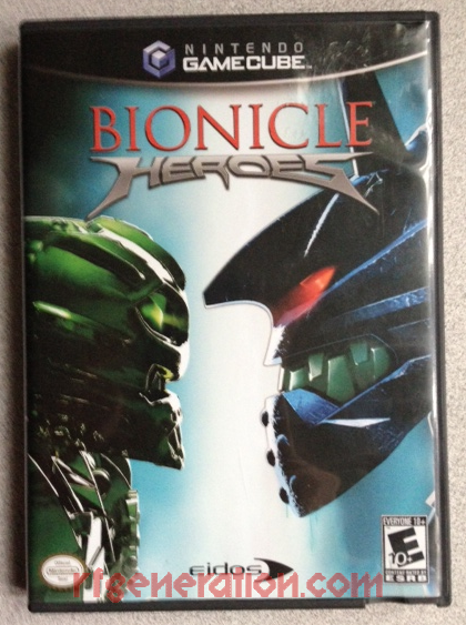 Bionicle Heroes Box Front