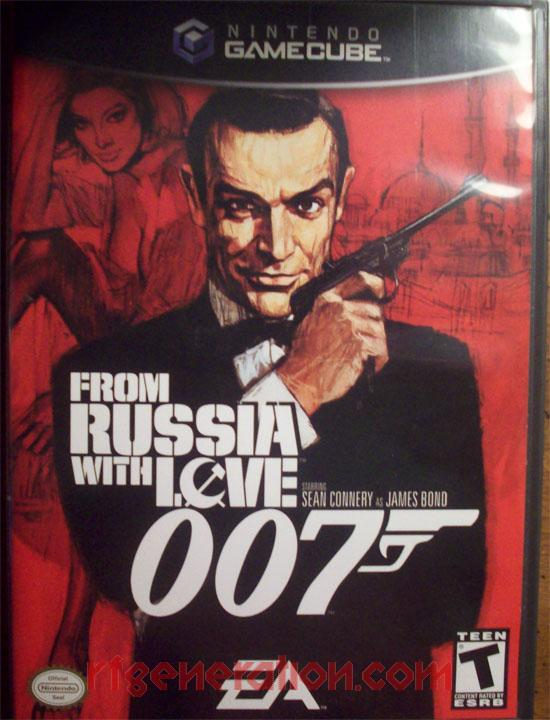 007: From Russia With Love Box Front