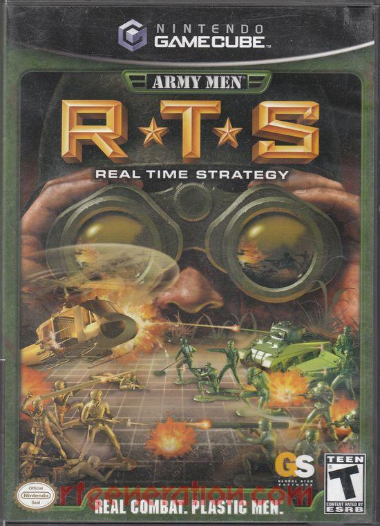Army Men: RTS Box Front
