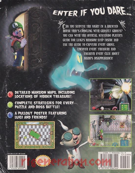 Luigi's Mansion In-Game Screen
