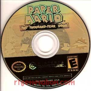 Paper Mario: The Thousand-Year Door Game Scan