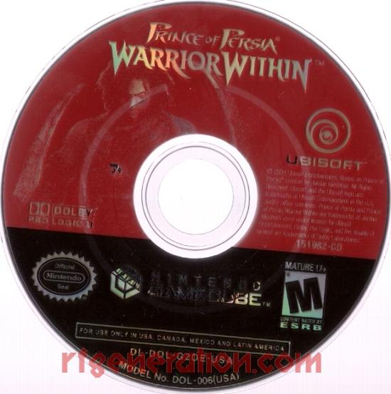 Prince of Persia: Warrior Within Game Scan