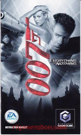 007: Everything or Nothing <sup>[Player's Choice]</sup> Manual Scan