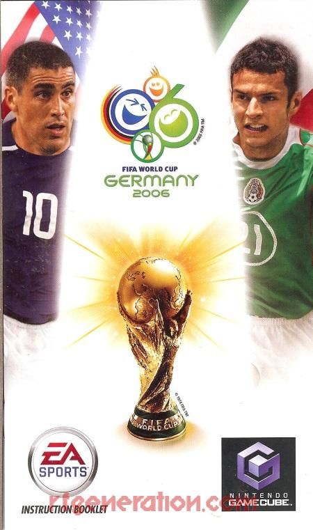 2006 FIFA World Cup Manual Scan