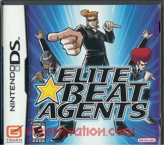 Elite Beat Agents Box Front