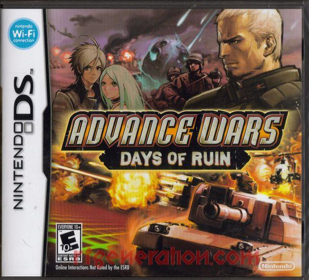 Advance Wars: Days of Ruin Box Front