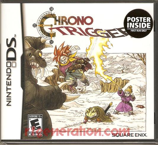 Chrono Trigger Box Front