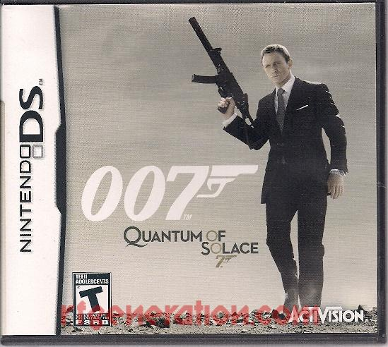 007: Quantum of Solace Box Front
