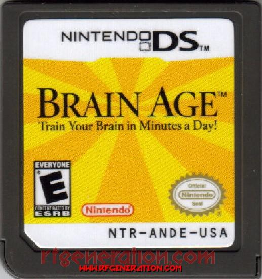 Brain Age: Train Your Brain in Minutes A Day Game Scan