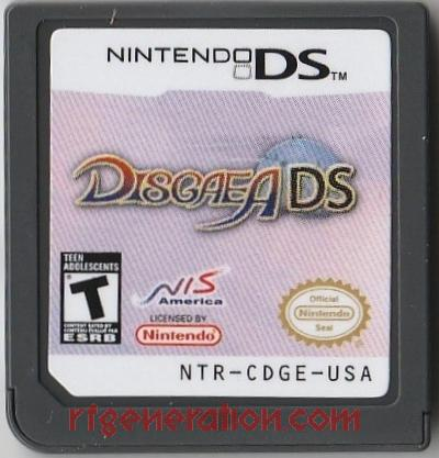 Disgaea DS <sup>[Re-Release]</sup> Game Scan