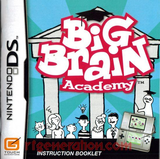 Big Brain Academy Manual Scan