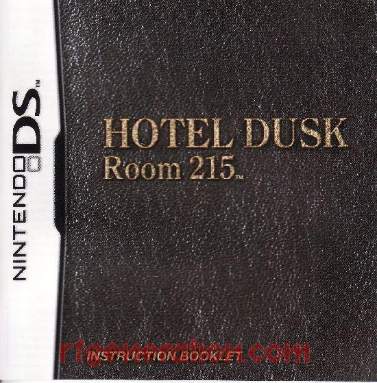 Hotel Dusk: Room 215 Manual Scan