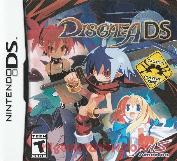 Disgaea DS <sup>[Re-Release]</sup> Manual Scan