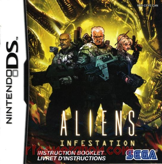 Aliens: Infestation Manual Scan