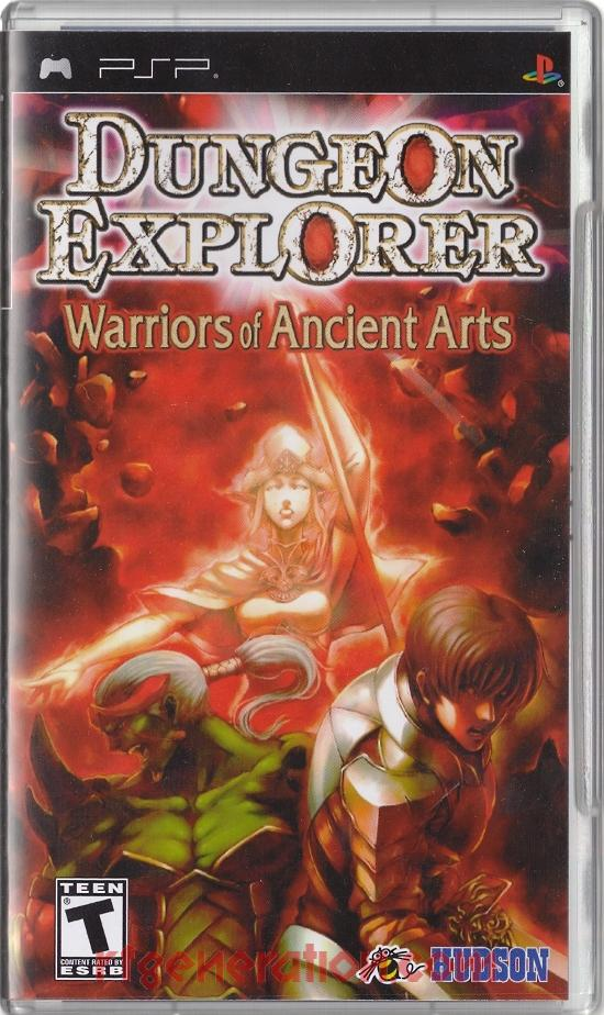 Dungeon Explorer: Warriors of Ancient Arts Box Front