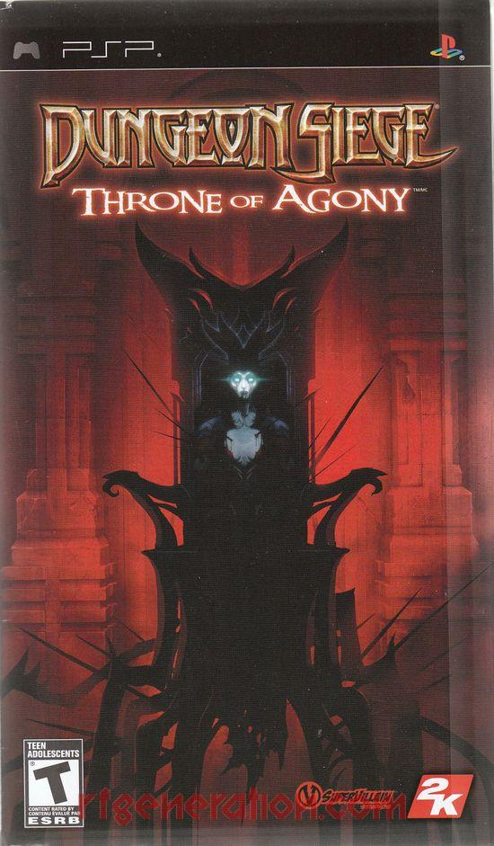 Dungeon Siege: Throne of Agony In-Game Screen