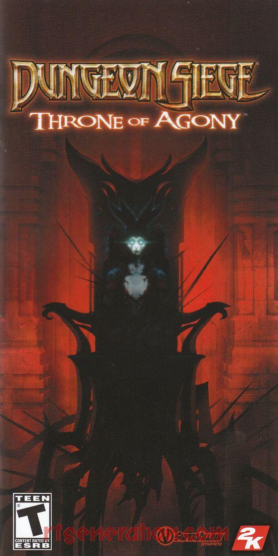 Dungeon Siege: Throne of Agony Manual Scan