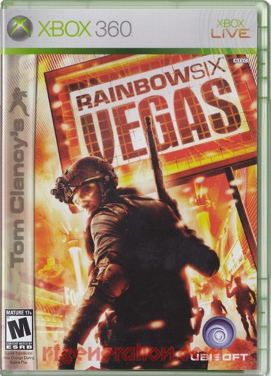 Tom Clancy's Rainbow Six Vegas Box Front