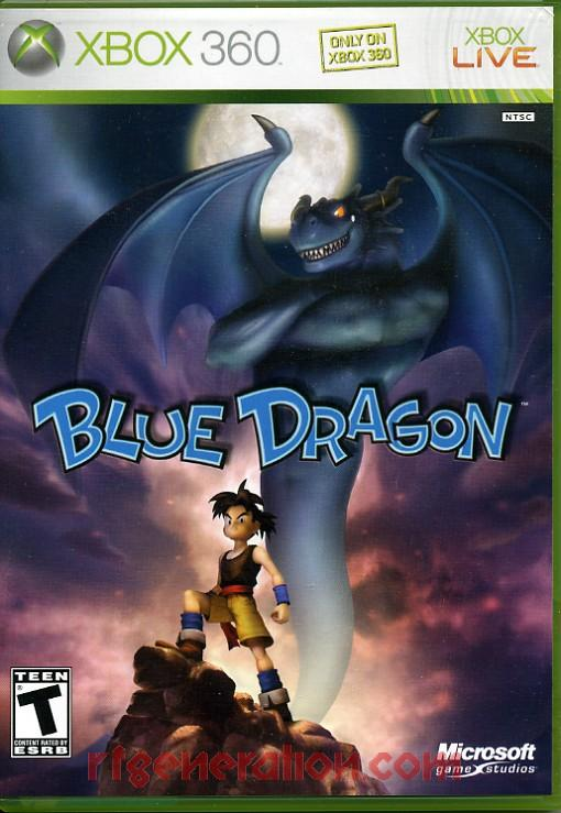 Blue Dragon Box Front