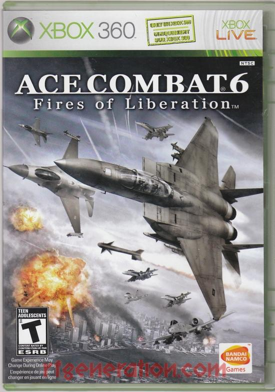 Ace Combat 6: Fires of Liberation Box Front