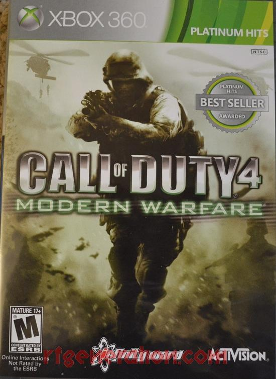 Call of Duty 4: Modern Warfare <sup>[Platinum Hits]</sup> Box Front