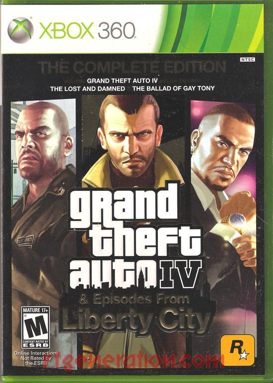 Grand Theft Auto IV <sup>[Complete Edition]</sup> Box Front