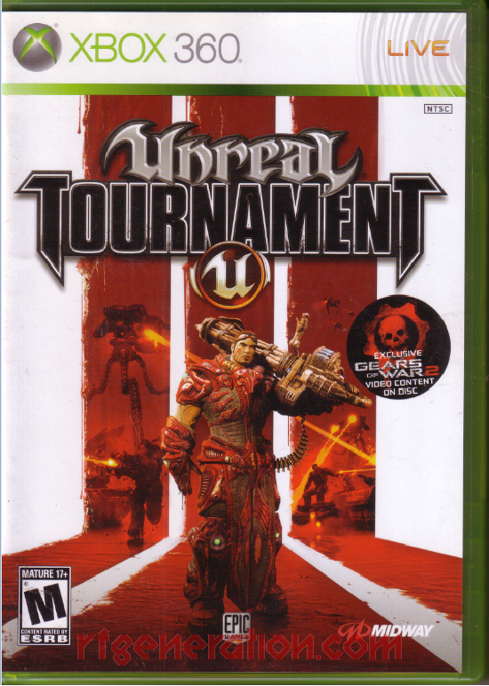 Unreal Tournament III Box Front