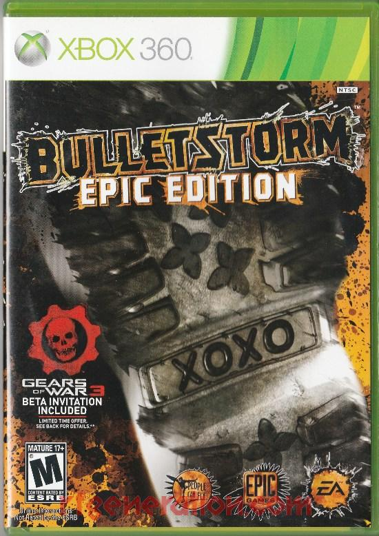 Bulletstorm <sup>[Epic Edition]</sup> Box Front