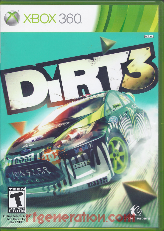 Dirt 3 Box Front