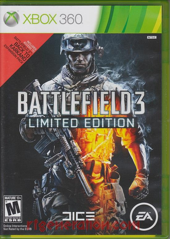 Battlefield 3 <sup>[Limited Edition]</sup> Box Front