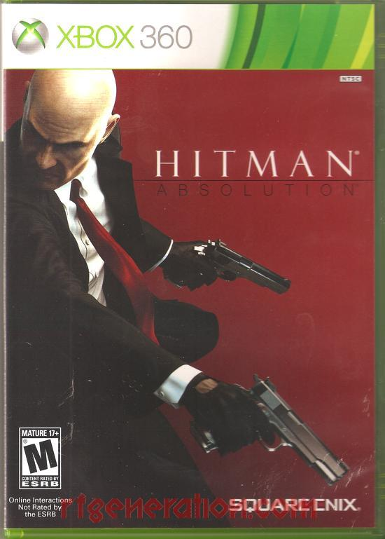 Hitman: Absolution Box Front