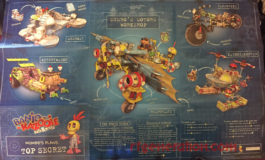 Banjo-Kazooie: Nuts & Bolts In-Game Screen