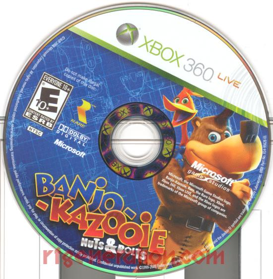 Banjo-Kazooie: Nuts & Bolts Game Scan