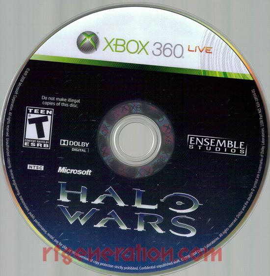 Halo Wars Game Scan