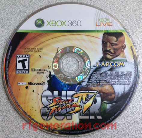 Super Street Fighter IV: Arcade Edition Game Scan