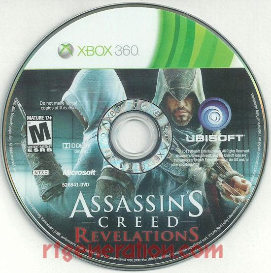 Assassin's Creed Revelations <sup>[Signature Edition]</sup> Game Scan